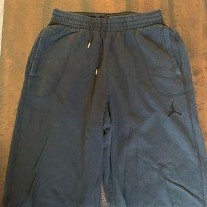 ba74b8b74b41 Men s Air Jordan Black Sweats Size L